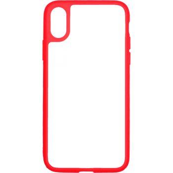 Чехол для iPhone InterStep iPhone X PURE-CASE ADV красный
